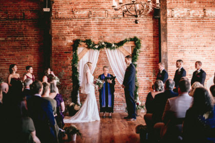 Cross + Main Wedding Ceremony Day-of Wedding Coordination