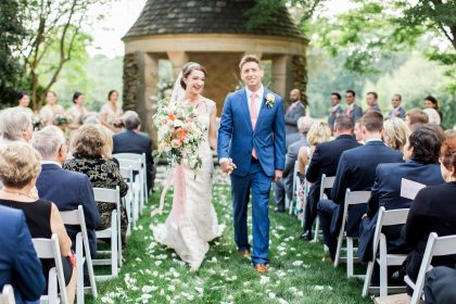 Graylyn Estate Wedding Ceremony