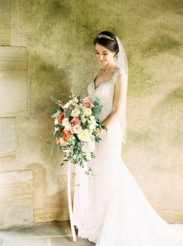 Graylyn Estate Wedding Bridal Portrait