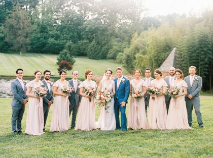 Graylyn Estate Wedding Party