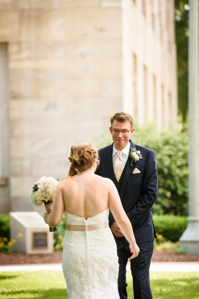 Raleigh Wedding First Look
