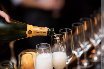 Wedding Champagne Toast at The Cookery