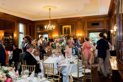 Graylyn Estate Wedding Dinner Reception