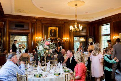 Graylyn Estate Wedding Dinner Reception