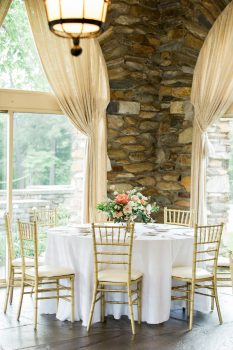 Graylyn Estate Wedding Reception Table