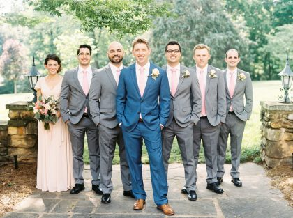 Graylyn Estate Wedding Groomsmen