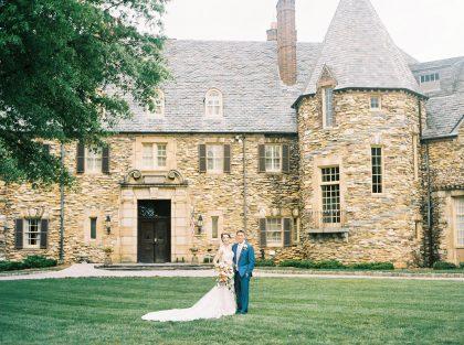 Graylyn Estate Wedding Portrait