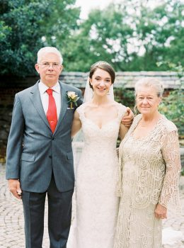 Graylyn Estate Wedding Parents of the Bride
