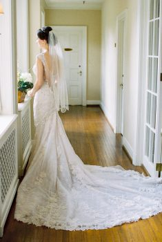 Graylyn Estate Wedding Bride
