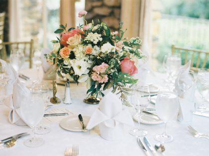 Graylyn Estate Wedding Reception Table