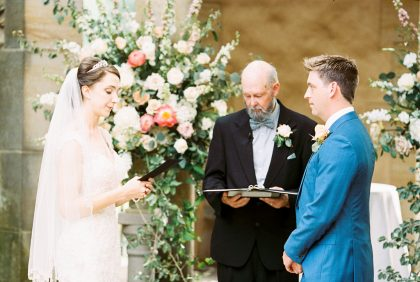 Graylyn Estate Wedding Ceremony