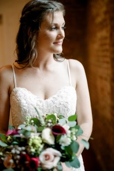 Bridal Portrait at The Cloth Mill