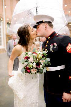 Marine Wedding at The Cloth Mill