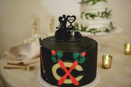 Chicago Black Hawks Groom's Cake by Cake Couture