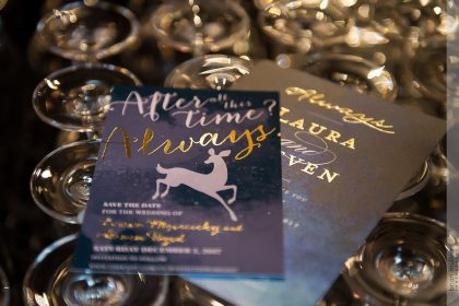 Harry Potter inspired Wedding Programs