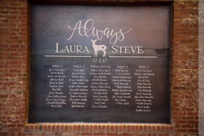 Harry Potter Inspired Wedding Chalkboard Art