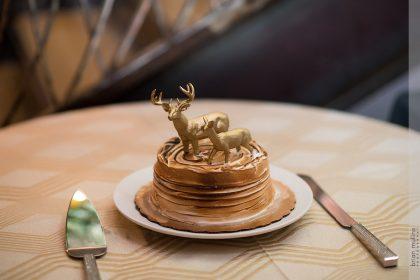 Harry Potter inspired Wedding Cake