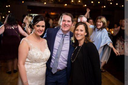 Bride and Groom w/ Chestnut & Vine Day-of Wedding Coordination