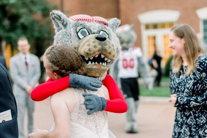 Bride and Mrs. Wuf