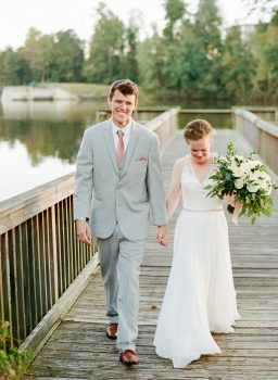 Lake Raleigh Wedding Portrait