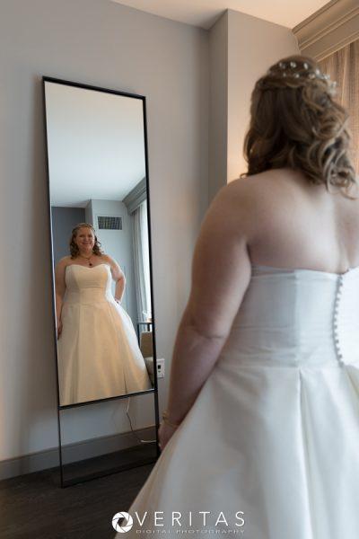 Raleigh Wedding Bride Getting Ready