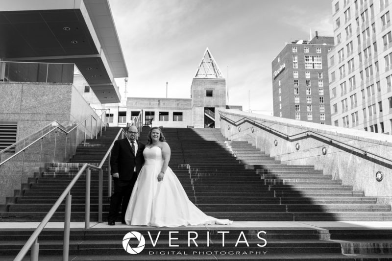 Raleigh Convention Center Wedding Photo