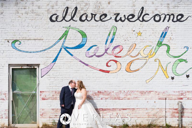 Wedding Photo Raleigh, NC Murals