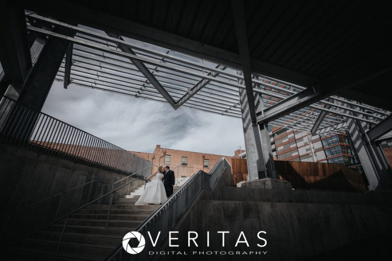 Downtown Raleigh Wedding Photo