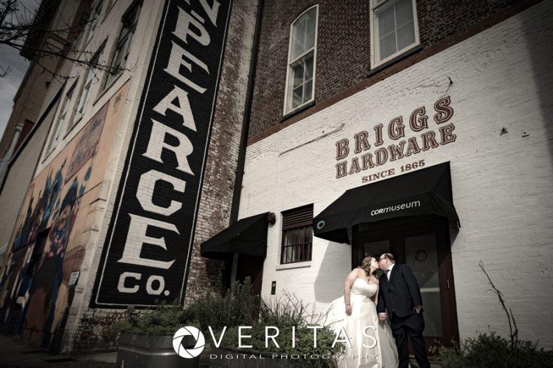 Briggs Hardware Wedding Portrait