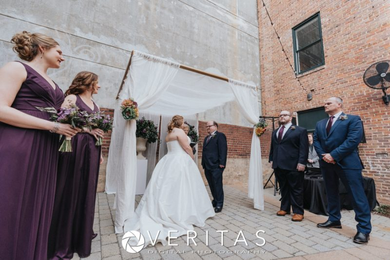 Sitti Courtyard Ceremony with Chuppa and Drapes