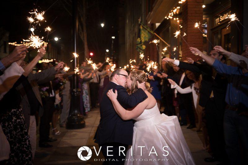 Wedding Sparkler Exit Chestnut & Vine