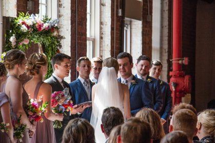 the cloth mill wedding