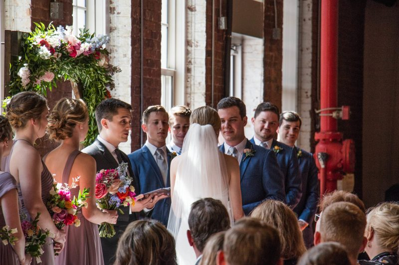 the cloth mill wedding