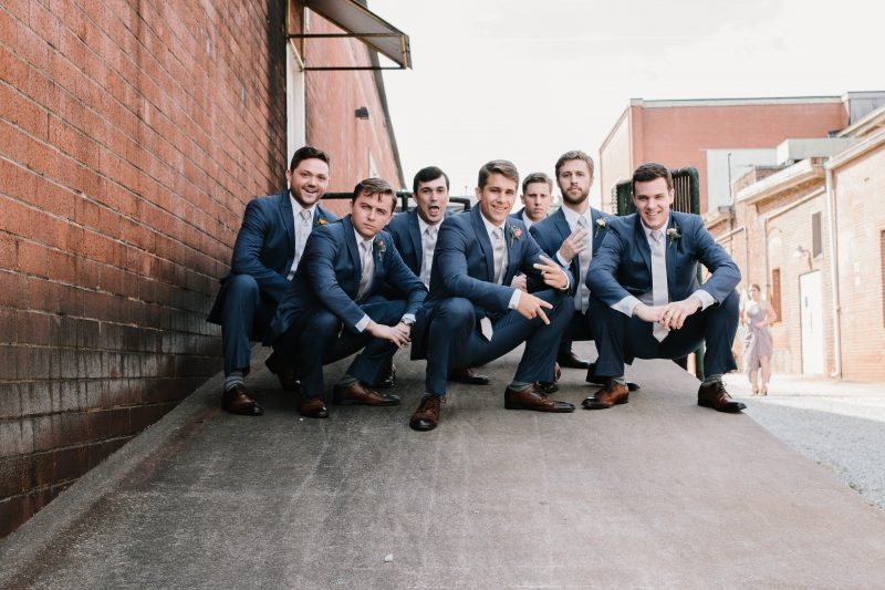 trendy groomsmen photos