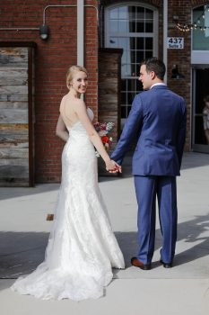 wedding at the cloth mill