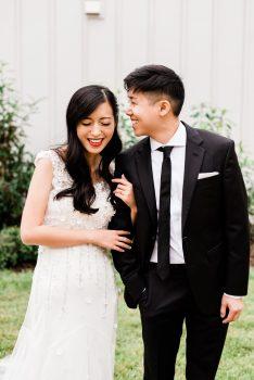 Bride and Groom Chestnut & Vine Day-of Wedding Coordination