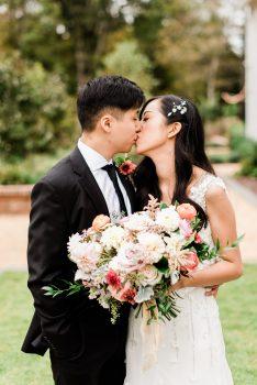 Stunning Bridal Bouquet Wild Flora Farm