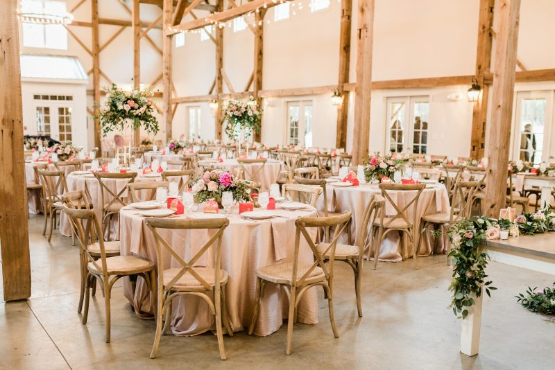 Chestnut & Vine Day-of Wedding Coordination Barn of Chapel Hill