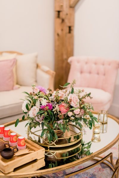 Wedding Lounge Furniture and Florals
