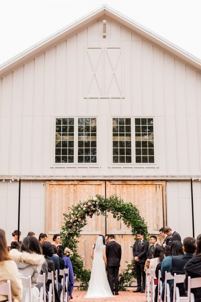Barn of Chapel Hill Chestnut & Vine Day-of Wedding Coordination