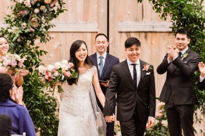 Just Married Chestnut & Vine Day-of Wedding Coordination