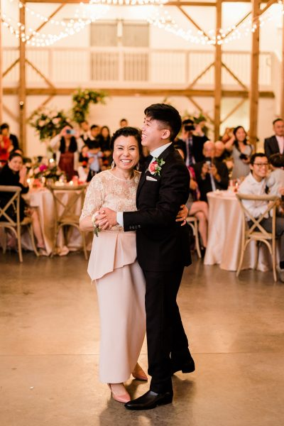 Mother-Son Wedding Dance Barn of Chapel Hill