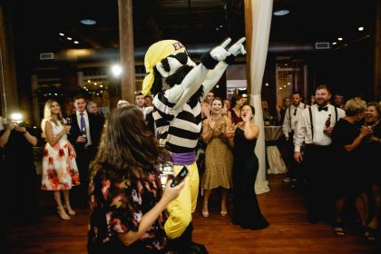 PeeDee Pirate visits wedding