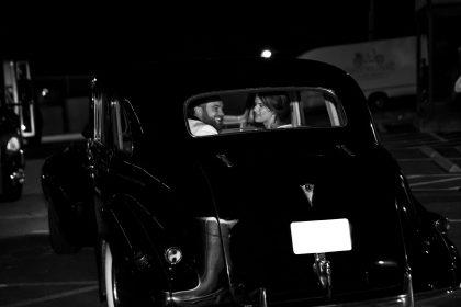 Newlyweds Getaway Car