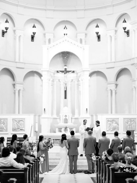 Holy Name of Jesus Cathedral Catholic Wedding