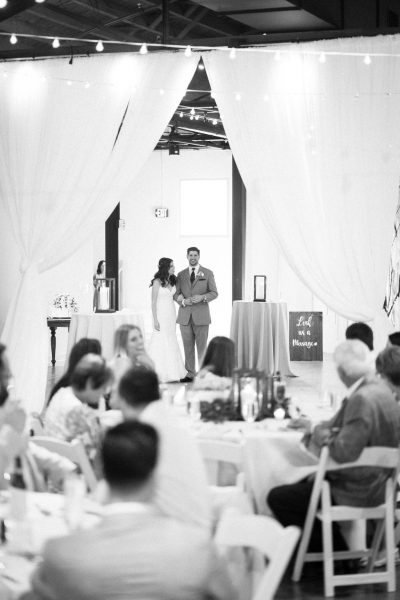Newlywed Introduction at The Fairview Raleigh, NC