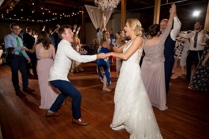 Wedding Reception Dancing All Events DJs North Carolina