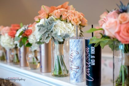 bridal party personalized gifts