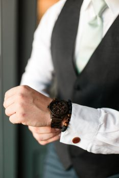 Groom Gift LuxWood Watch