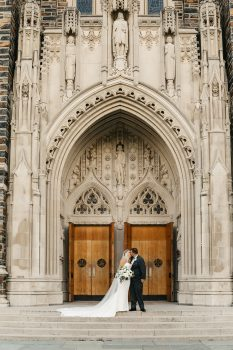 Gothic Cathedral Wedding Backdrop